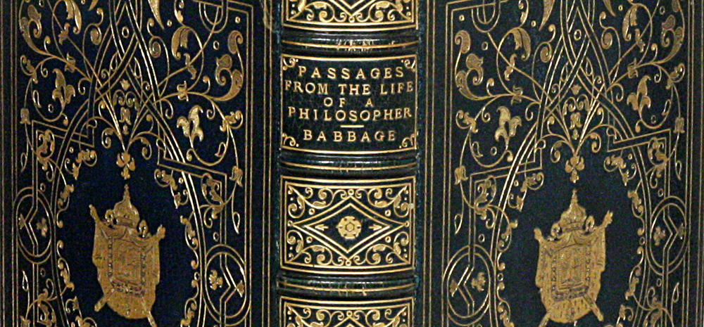 Charles Babbage - Passages from the Life of a Philosopher
