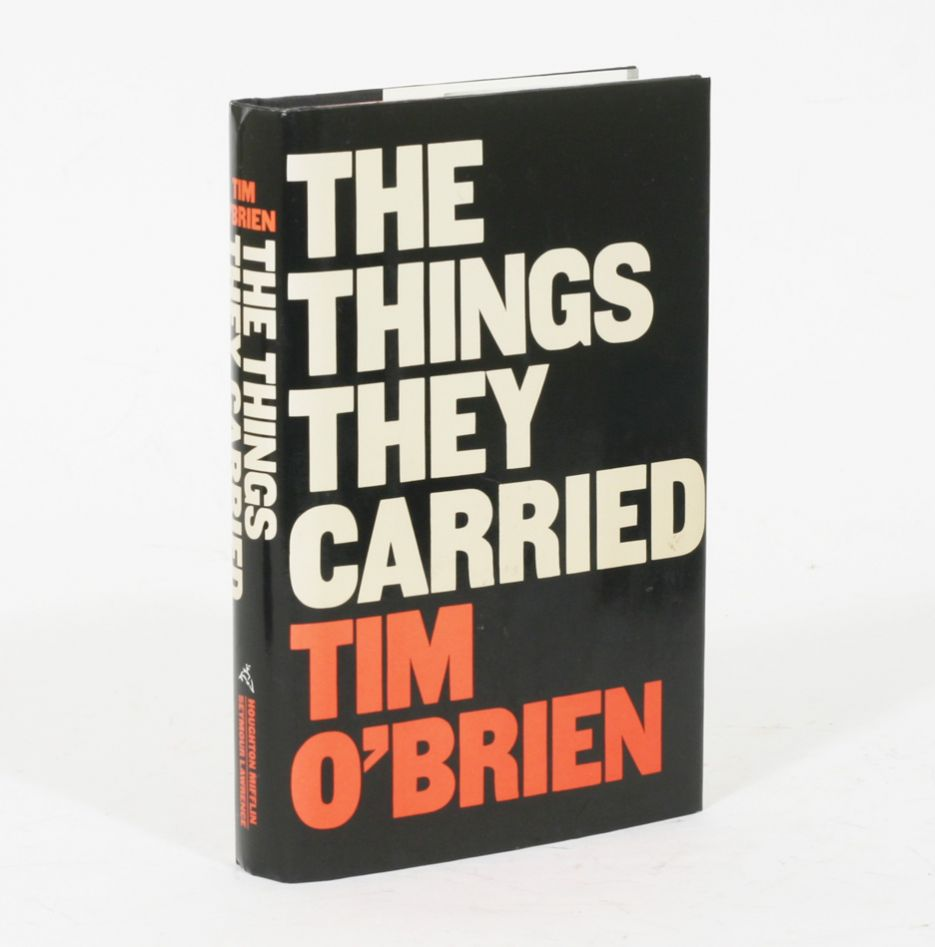 tim obriens the things they carried paper essay Essays for the things they carried the things they carried essays are academic essays for citation these papers were written primarily by students and provide critical analysis of the things they carried by tim o'brien.