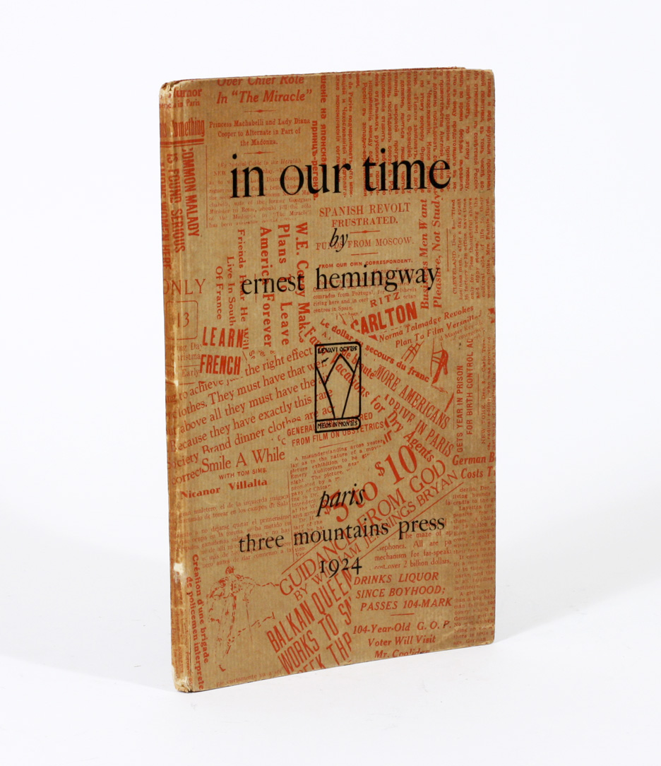 in our time by ernest hemingway essay Read this essay on ernest hemingway come browse our large digital warehouse of free sample essays get the knowledge you need in order to pass your classes and more only at termpaperwarehousecom.