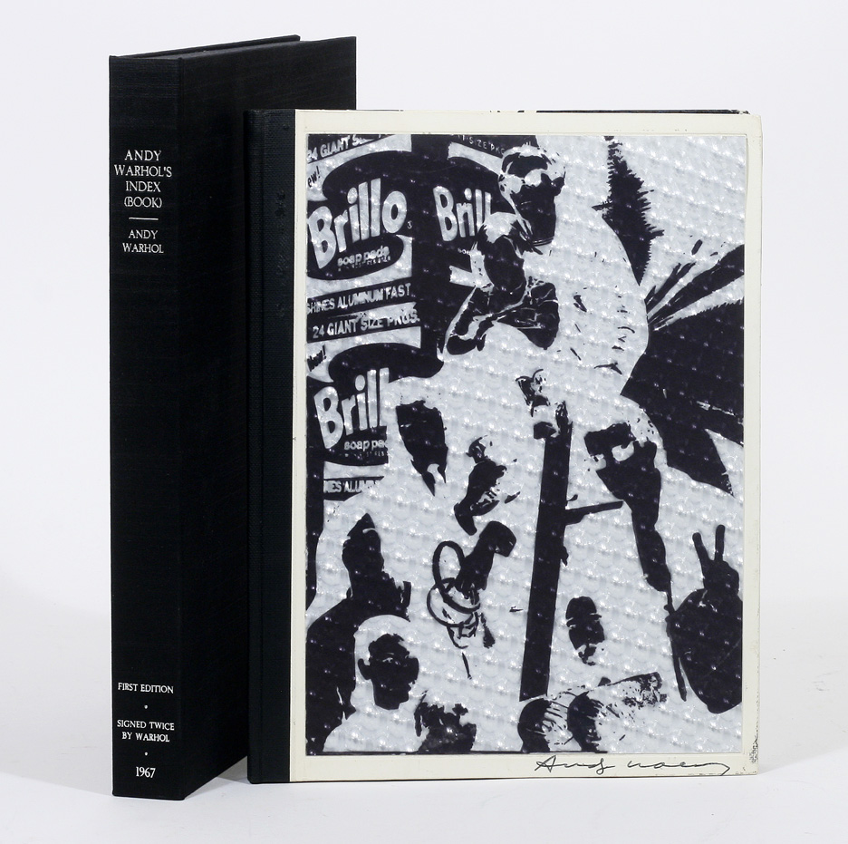andy warhol 1st first edition
