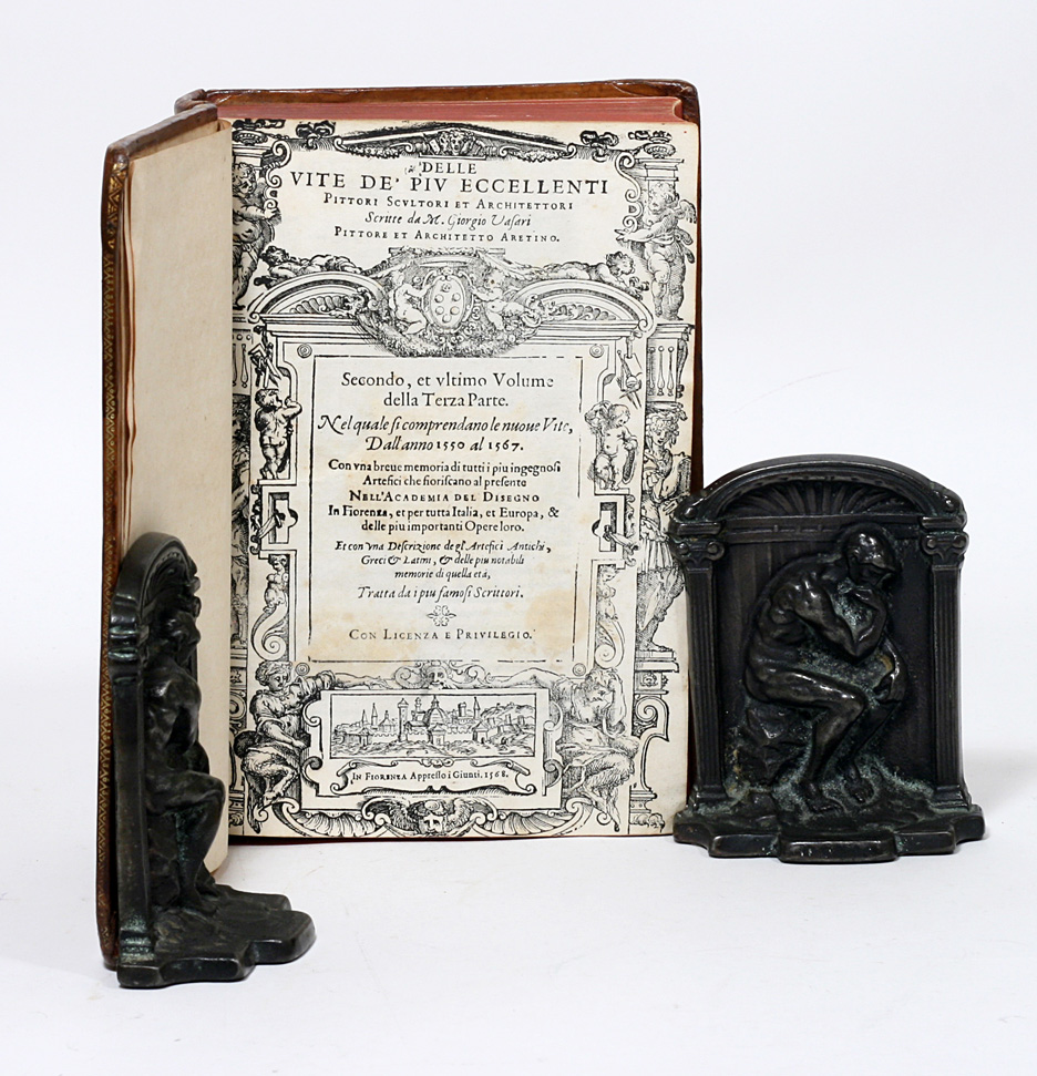 Architetti Famosi Antichi le vite de' piu eccellenti pittori, scultori, e architettori the lives of  the artists by giorgio vasari on manhattan rare book company