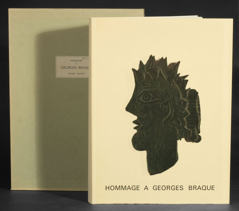 Hommage a georges braque derriere le miroir numbers 144 for Derriere le miroir