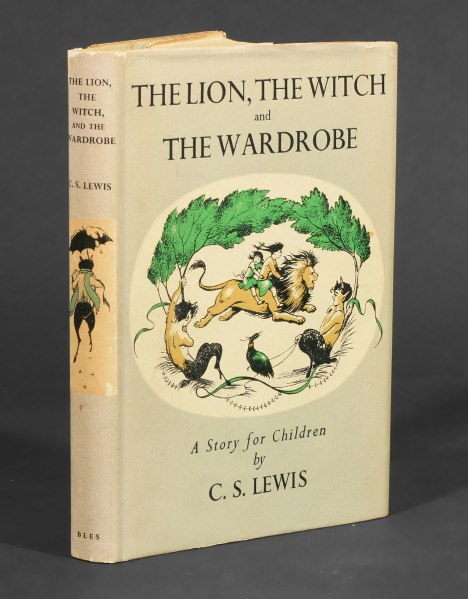The Lion The Witch And The Wardrobe Book