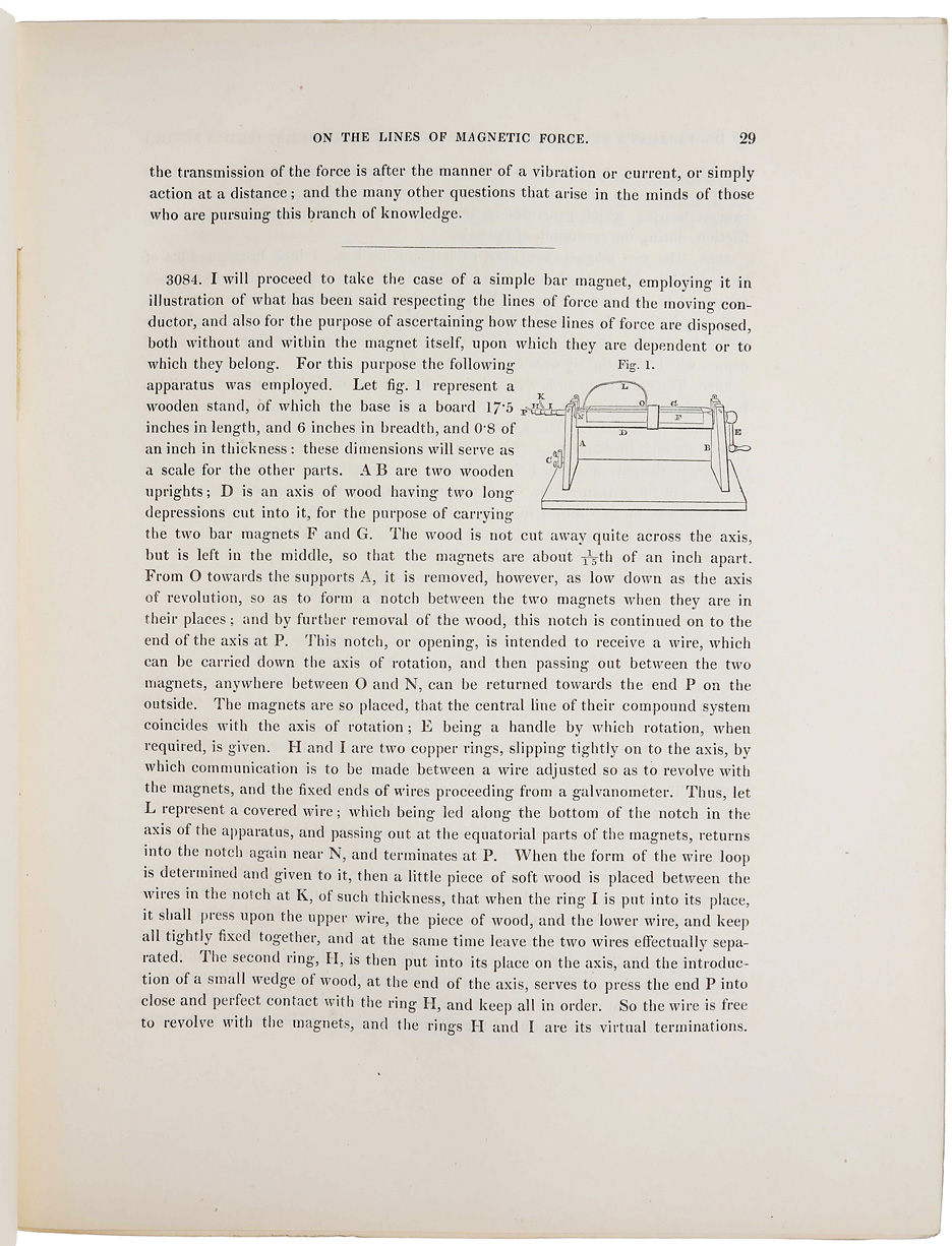 Experimental researches in electricity – twenty-eight series. On the ...