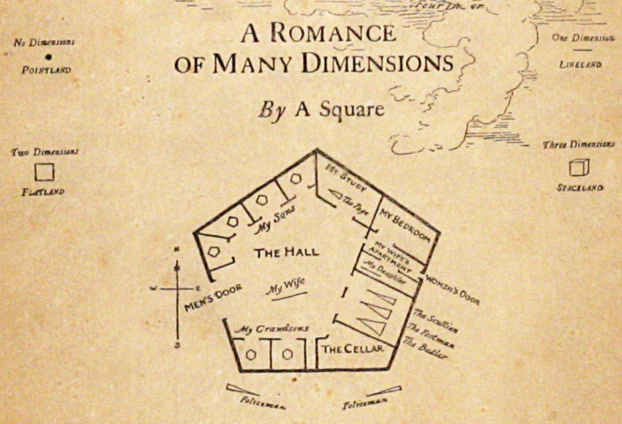 Flatland: A Romance of Many Dimensions | EDWIN ABBOTT ABBOTT, pseud A  SQUARE | First edition
