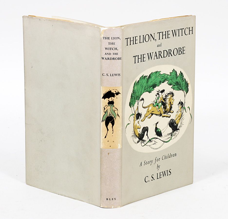 the lion the witch and the wardrobe c s lewis 1st