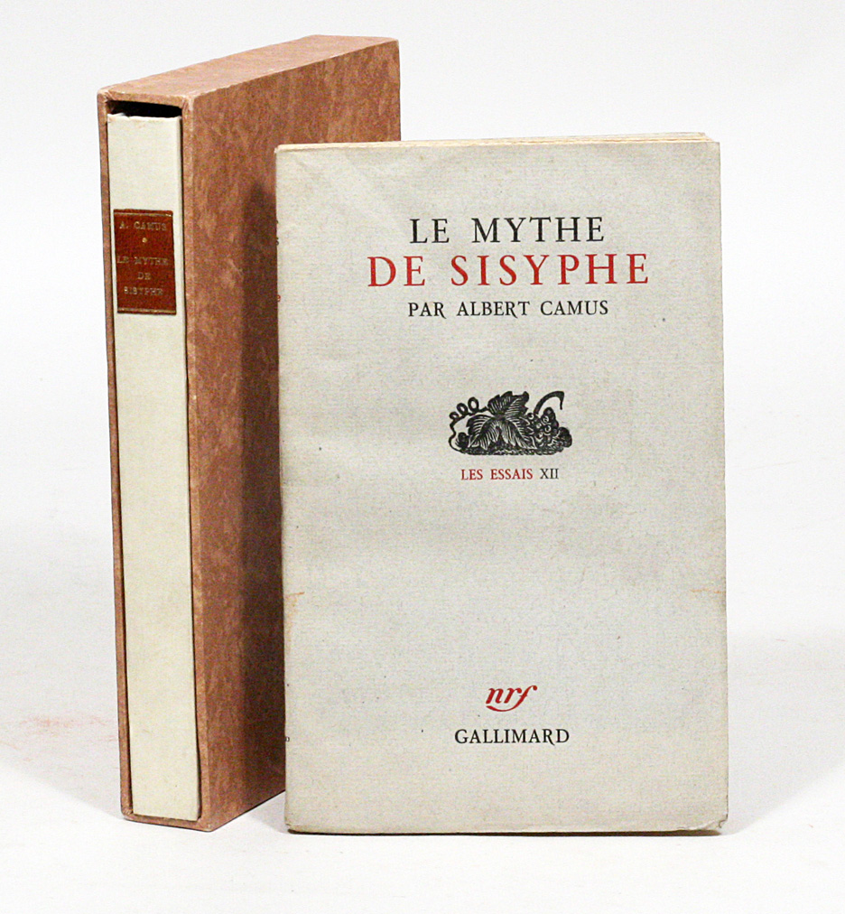 Le Mythe De Sisyphe The Myth Of Sisyphus  Albert Camus  First Edition Le