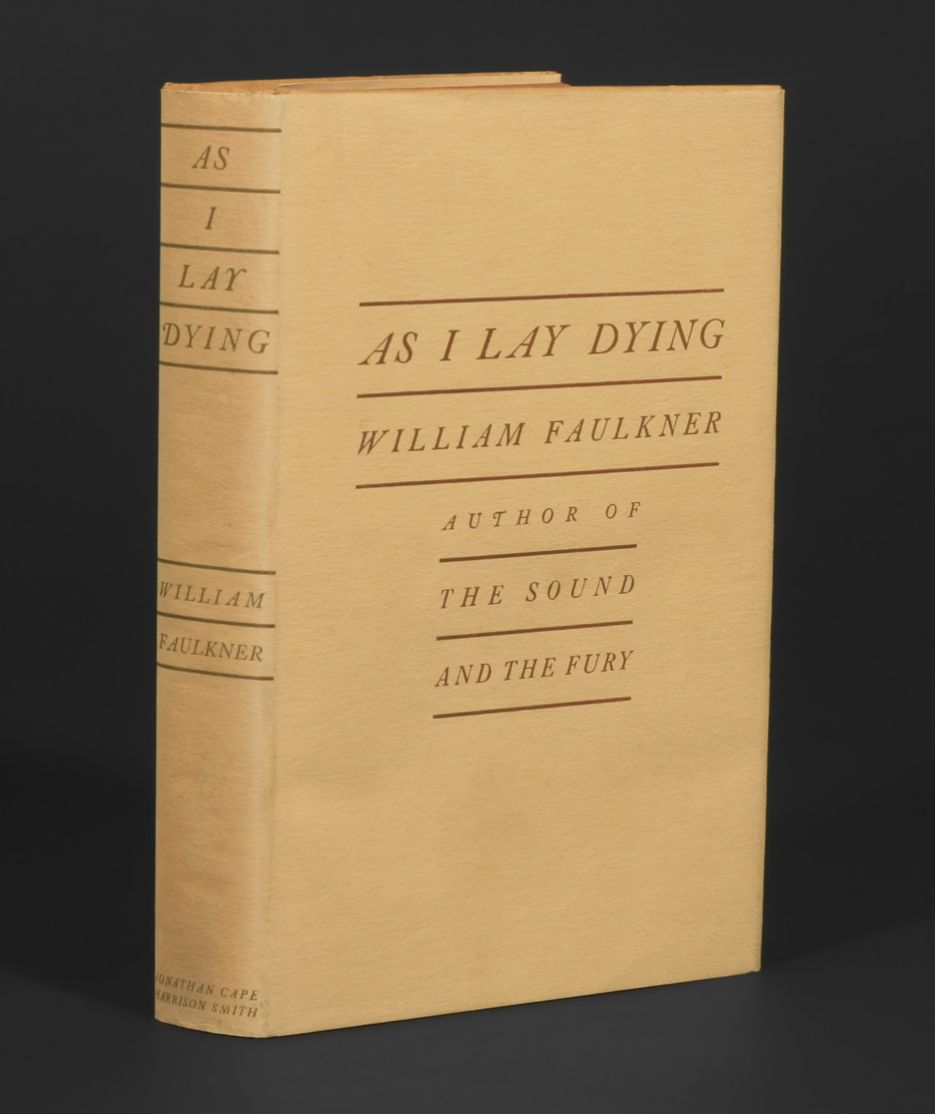 faulkner as i lay dying essays Free essay: as i lay dying essay in the novel as i lay dying by william faulkner  each chapter is written through a different character's.