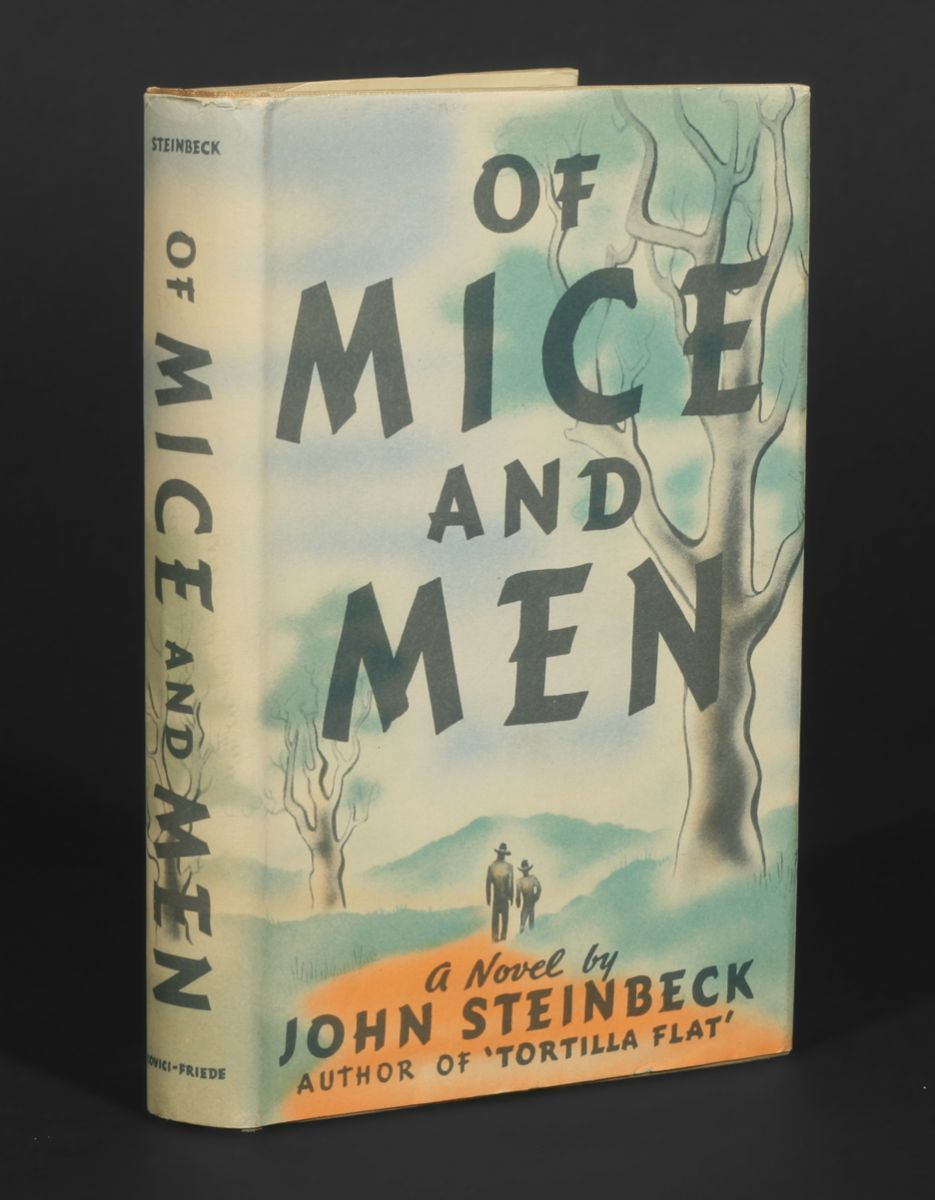 the story of lennie and george in john steinbecks of mice and men Of mice and men is a novella written by nobel prize-winning author john steinbeck, published in 1937 this book tells the tragic story of george milton and lennie small, two displaced migrant ranch workers during the great depression in california.