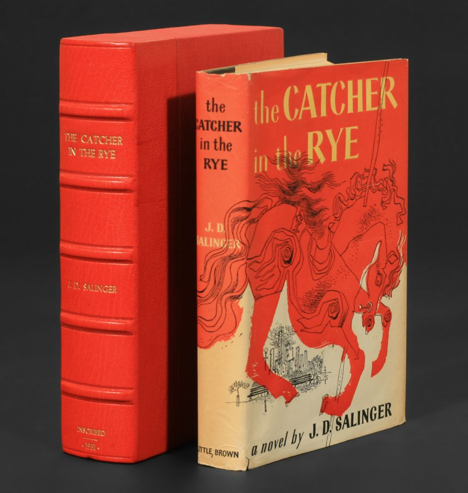 Bildergebnis für the catcher in the rye little brown