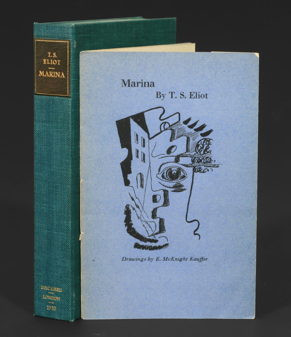 marina by ts eliot Sterile civilisation: a reading of ts eliot's 'the waste land' world war i is infamous for eradicating an entire generation of men, men who gave up their.