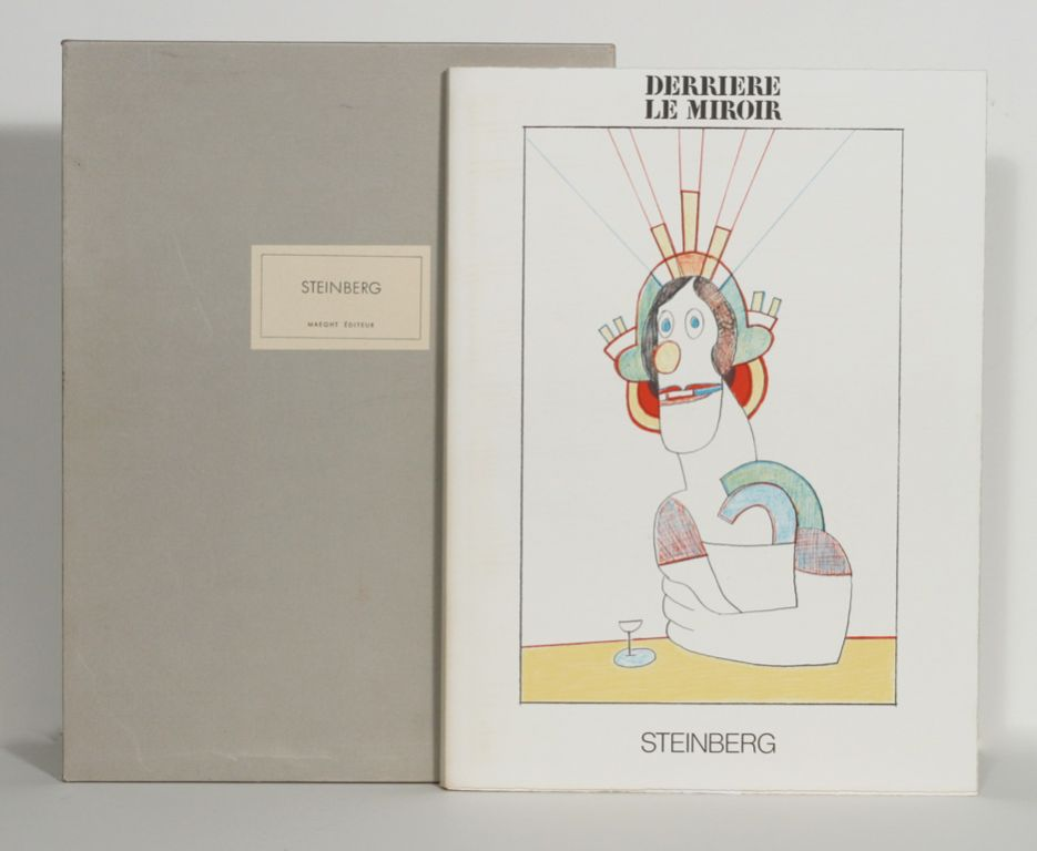Derriere le miroir saul steinberg special number 224 for Derriere miroir