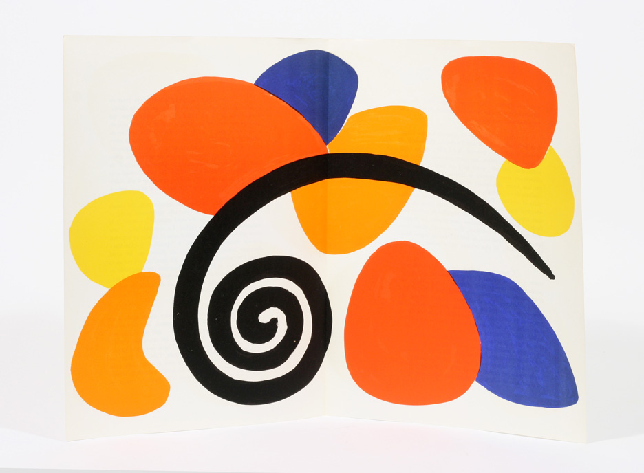 Derriere le miroir no 173 alexander calder 1st edition for Derrier le miroir