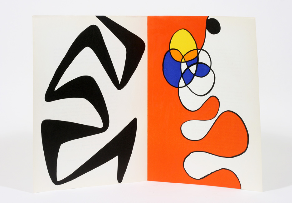 Derriere le miroir no 173 alexander calder 1st edition for Derriere le miroir