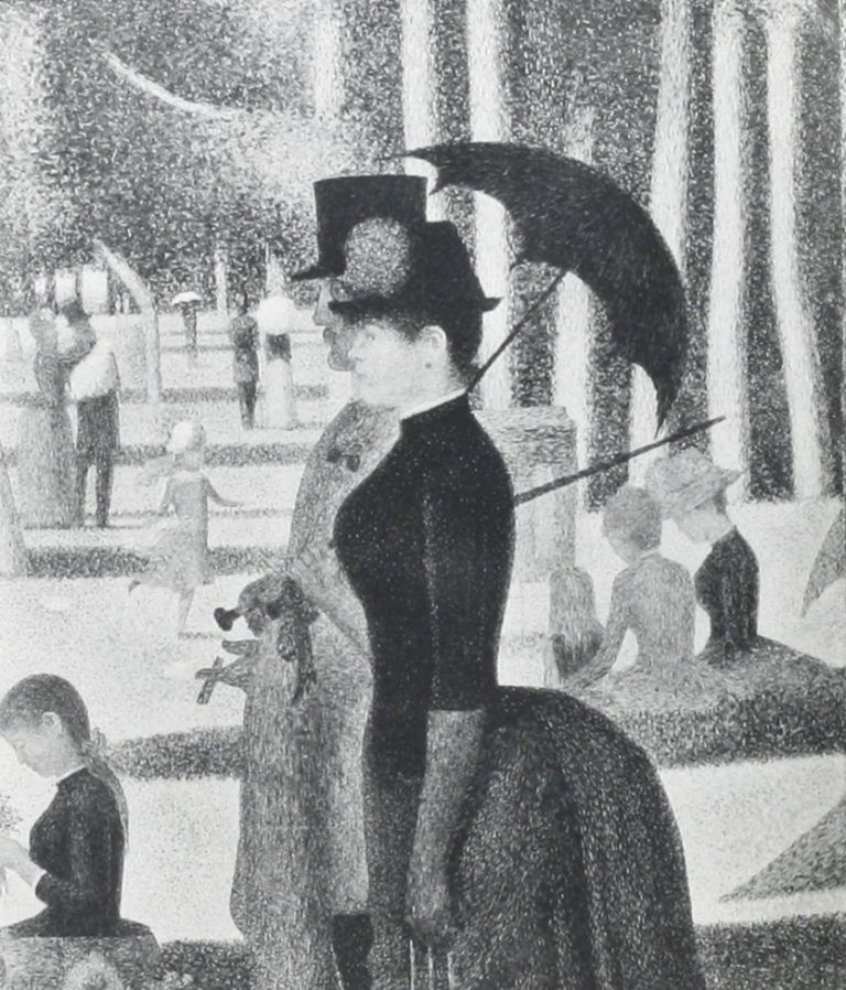 Seurat et son oeuvre [Seurat and his work]. GEORGES SEURAT, C. M. DE HAUKE.