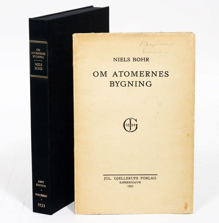Om Atomernes Bygning [On the Structure of Atoms]. NIELS BOHR.