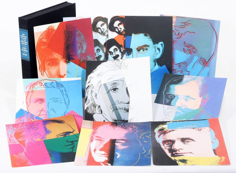 Ten Portraits of Jews of the Twentieth Century. ANDY WARHOL.
