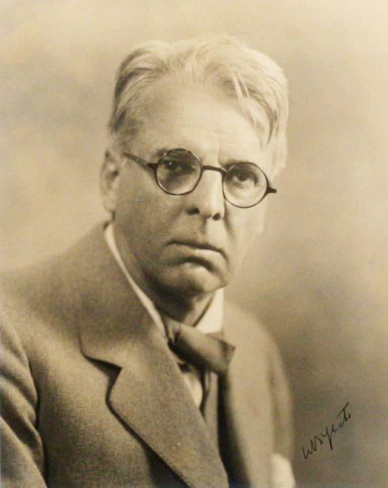 Photograph Signed. WILLIAM BUTLER YEATS, MARTIN VOS.