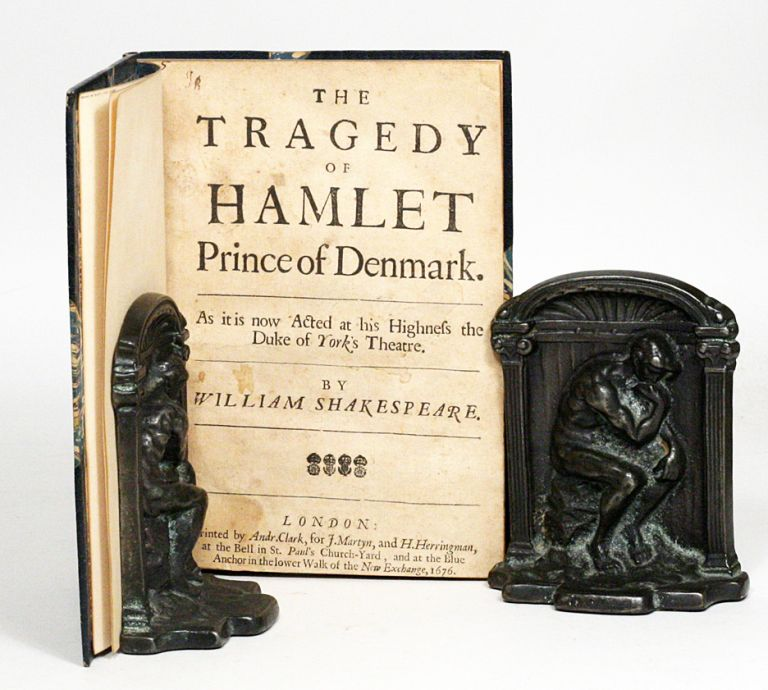 The Tragedy of Hamlet Prince of Denmark. As it is now Acted at his Highness the Duke of York's Theatre. WILLIAM SHAKESPEARE.