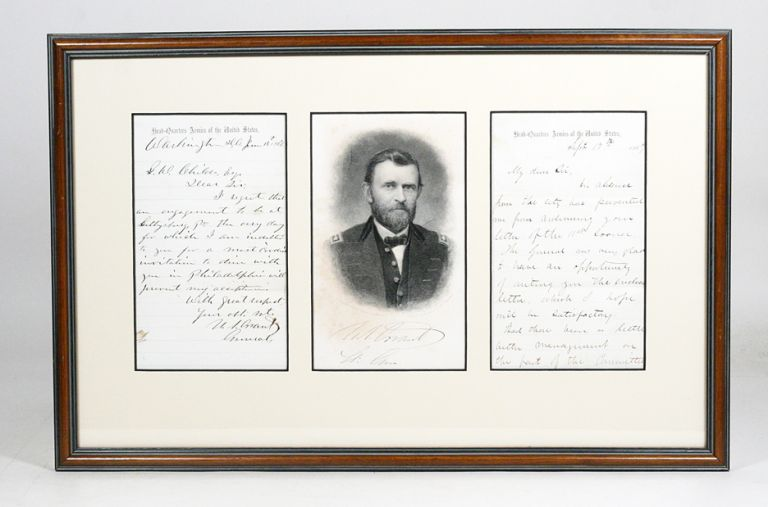 Autograph Letter Signed. ULYSSES S. GRANT.