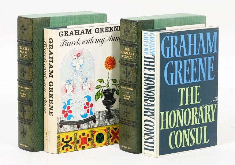 Travels with my Aunt [AND] The Honorary Consul. GRAHAM GREENE.
