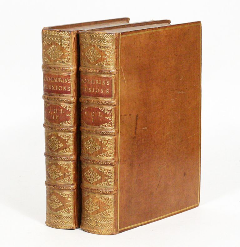 A Treatise of Fluxions. ISAAC NEWTON, COLIN MACLAURIN.