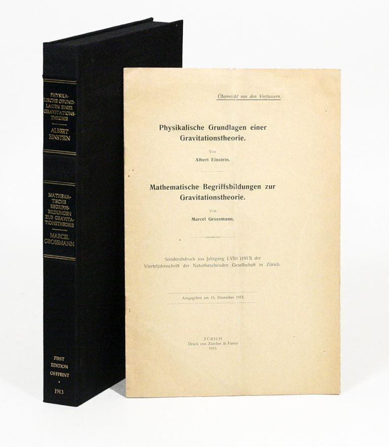 Physikalische Grundlagen einer Gravitationstheorie [Physical Foundations of a Theory of...