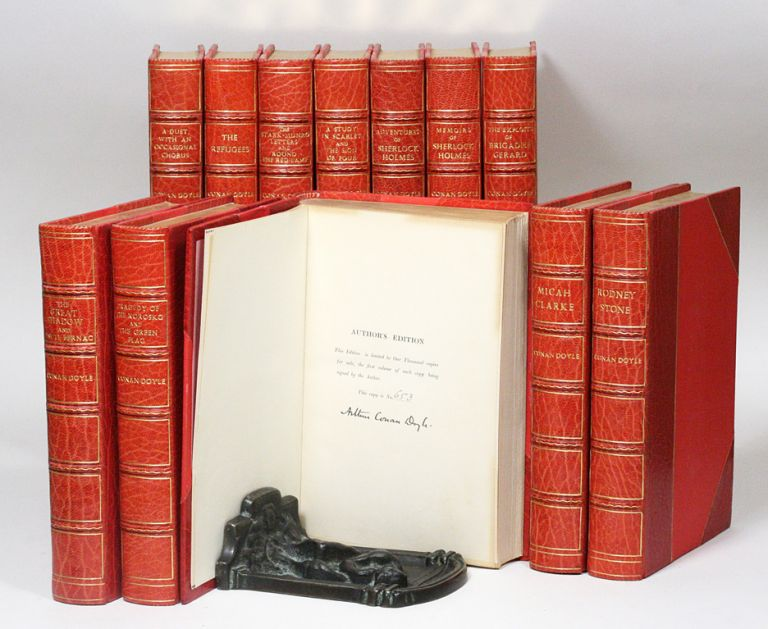 The Author's Edition of the Works [Adventures of Sherlock Holmes; Memoirs of Sherlock Holmes; A Study in Scarlet; The Sign of the Four; etc.]. ARTHUR CONAN DOYLE.