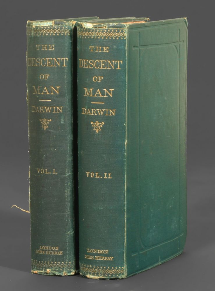 the descent of man charles darwin st edition