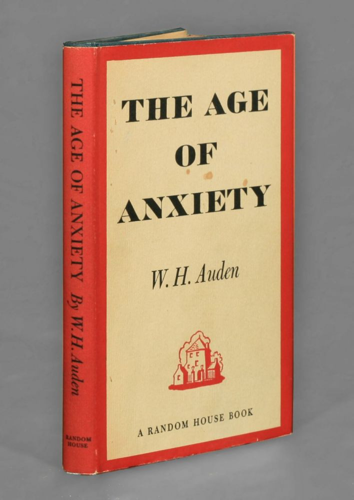 The Age Of Anxiety W H Auden