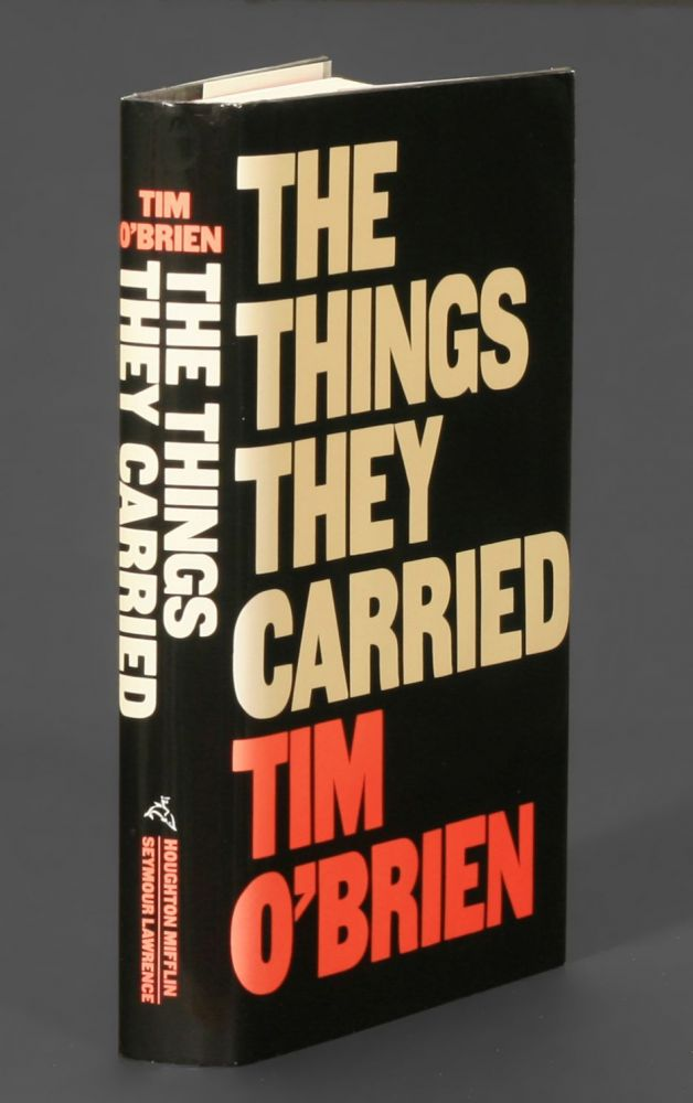 a report on the book the things they carried by tim obrien Book reviews the things they carried by tim o'brien the things they carried by tim o'brien mag june 3, 2010  or if you need to report abuse on the site, please let us know .