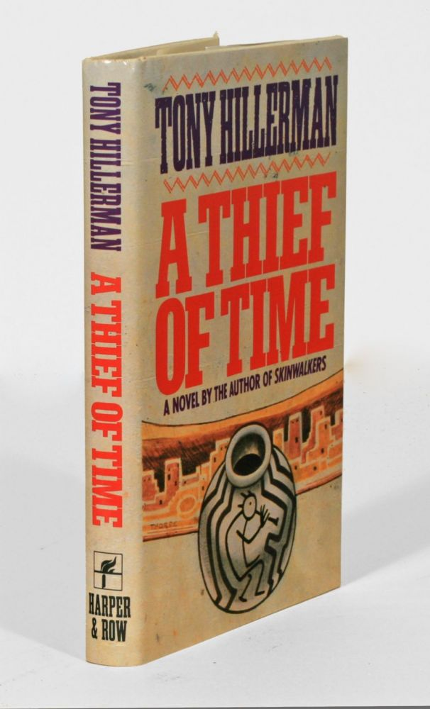 A Thief Of Time Tony Hillerman 1st Edition border=
