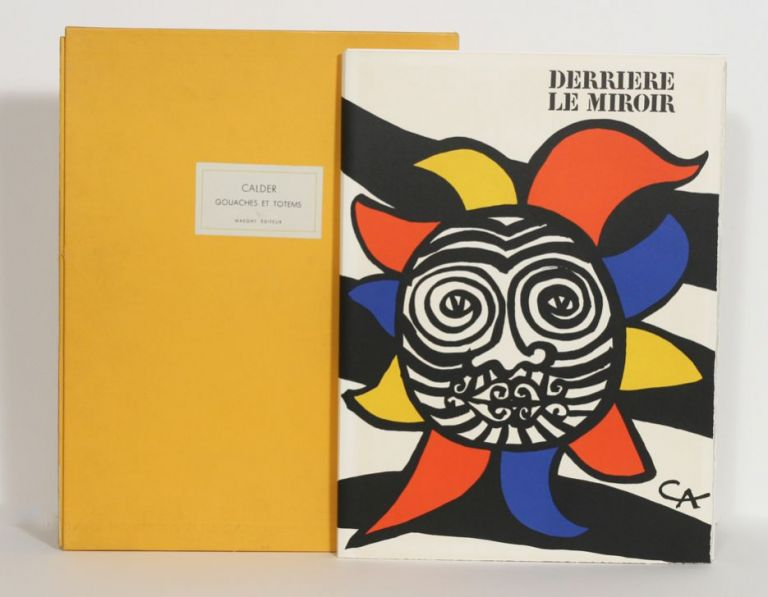 Gouaches et totems derriere le miroir special issue 156 for Derrier le miroir