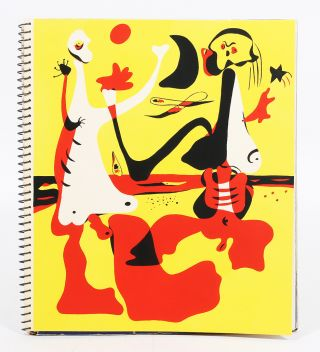 D'Aci i d'Allà [1934 Christmas Issue], Containing Figures davant el mar. Joan MIR&Oacute