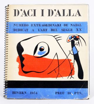 D'Aci i d'Allà [1934 Christmas Issue], Containing Figures davant el mar