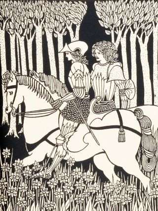 Le Morte D'Arthur: The Birth, Life and Acts of King Arthur, Vol. I and II. Sir Thomas Malory, Aubrey Beardsley.