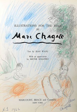 Illustrations for the Bible. MARC CHAGALL.