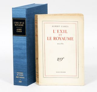 L'exile et le royaume [Exile and the Kingdom]. ALBERT CAMUS.