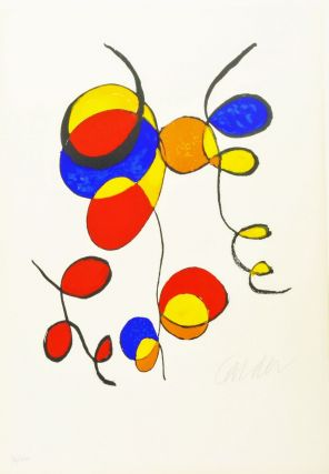 Art in America, Graphics 70. ALEXANDER CALDER, RICHARD ANUSKIEWICZ, PETER DECHAR, PAUL...