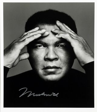 Silver Gelatin Photographs Signed. MUHAMMAD ALI, RICHARD CORMAN