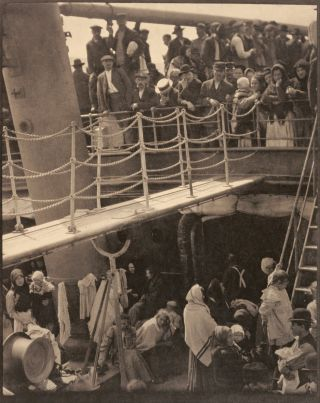 "Camera Work 36: ""The Steerage"" ALFRED STIEGLITZ, MAX WEBER."