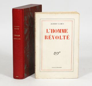 L'Homme Révolté [The Rebel]. ALBERT CAMUS.
