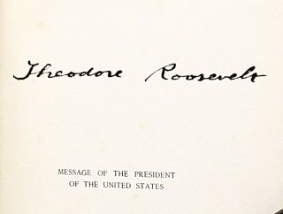 Message of the President of the United States. Fifty-Seventh Congress. First Session. [State of the Union; Inaugural Address; First Annual Message]