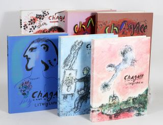 Lithographe [The Lithographs of Chagall, Volumes I - VI, complete]