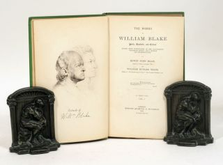 "The Works of William Blake; poetic, symbolic, and critical. Edited with Lithographs of the Illustrated ""Prophetic Books,"" and a Memoir and Interpretation"