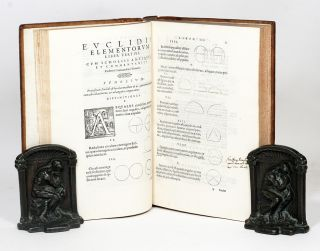 Elementorum libri XV una cum scholiis antiquiis [Elements]. EUCLID.