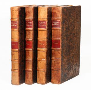 The First and second volumes of Chronicles, comprising 1 The description and historie of England, 2 The description and historie of Ireland, 3 The description and historie of Scotland... WITH: The Third volume of Chronicles... [The Chronicles]