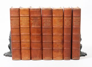 The Works of Shakespeare. The text of the First Folio with Quarto variants and a selection of...