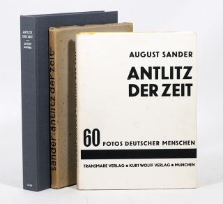 Antlitz der Zeit [The Face of Our Time]. AUGUST SANDER