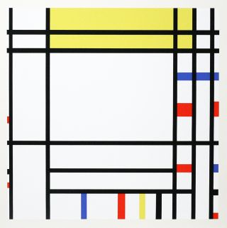 A Portfolio of 10 Paintings. PIET MONDRIAN